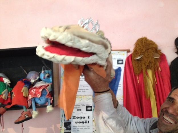 Fish puppet!!