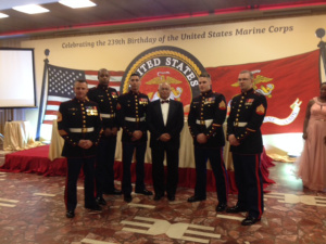 Guest of honor.  US Ambassador